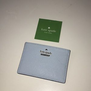 NWT Kate Spade card holder 💙